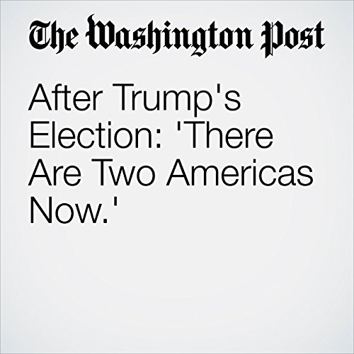 After Trump's Election: 'There Are Two Americas Now.' cover art
