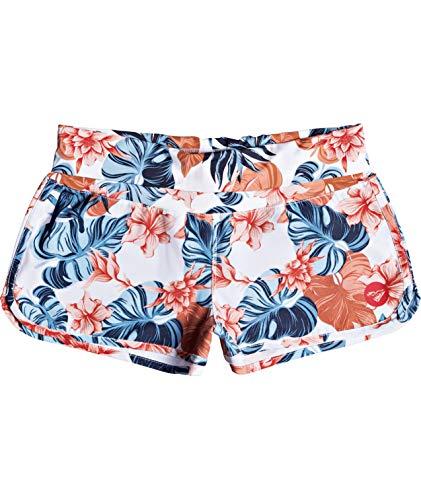 Roxy Junior's Endless Summer Boardshort, Bright White Standard Sample, M