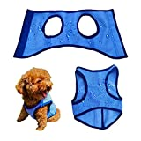 BAREGO Dog Cooling Vest for Small Medium Large Pet/Breathable Chill Out Cool Jacket/Summer Soft Anti Heat Swamp Cooler Coat for Outdoor Hiking Training/Reflective Lightweight Reusable (XL)