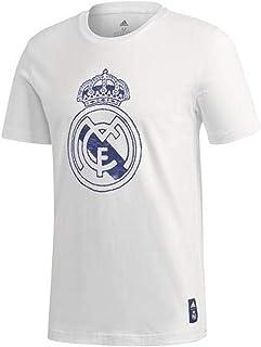 ريال مدريد اف سي تيشيرت ريال مدريد الرسمي لموسم 2020/2021 بالدرع الرسمي الكبير