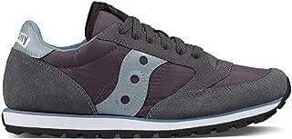 Women's Jazz Low Pro Fashion Sneaker,Grey/Blue,7.5 M US