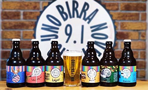 BOX DEGUSTAZIONE GIRO DEL MONDO IN 12 BIRRE- BOX da 12 bottiglie di birra artigianale Italiana da 33 cl FORMATO da 6 differenti stili di birra, 2 bottiglie per ogni stile.