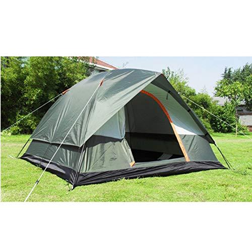 ZHJLOP Zelt Qualität Ultralight Aluminiumlegierung Pole Camping Zelt 1 Person Doppelschicht wasserdichte Zelt für Mountain Trip Neue Ankunft