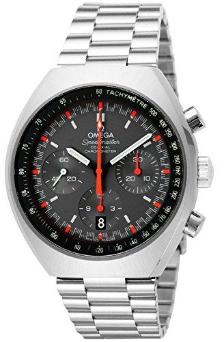 Omega Speedmaster Chronograph Grey Dial Steel...