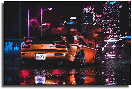 póster coches de la marca Refosian