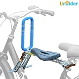 UrRider Child Bike Seat,Front Bike Seat for Toddler, Foldable & Ultralight Kids Baby Bicycle Carrier with...