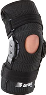 ShortRunner ROM Hinged Knee Brace, NEO Wraparound Open Back w/ post op hinge Medium
