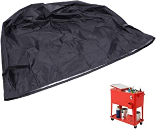 Cart Protective Cover Outdoor Cooler Cart Cover 86x48x79cm ...