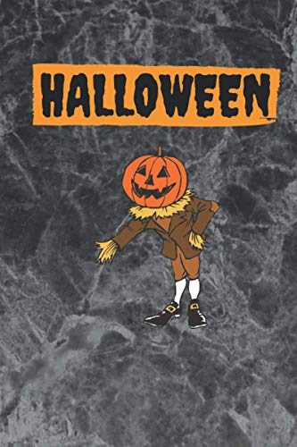 halloween: cover book 6 x 9 120 pages