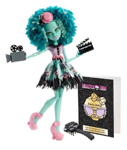 Monster High Mattel BLX04 – Lumière effrayante sur Deluxe Honey Swamp, poupée avec Accessoires