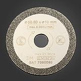 Calli 50.8mm Diamant Sägeblatt Trennscheiben für Fliesen Marmor Schneide -