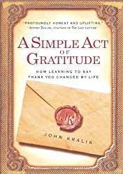 A Simple Act of Gratitude Book