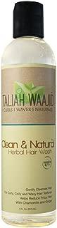 Taliah Waajid Clean & Natural Herbal Hair Wash, 8 oz