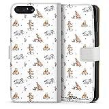 DeinDesign Étui Compatible avec Apple iPhone 7 Plus Étui Folio Étui magnétique Winnie l'ourson...