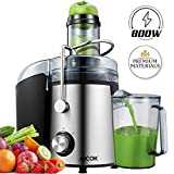 Juicer AICOK 75MM Wide Mouth Juicers Whole Fruit and Vegetable Easy Clean, 800W Quick Juicing, BPA-Free Food...