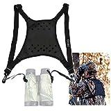 Gosky Deluxe Double Sling Shoulder Neck Strap Belt - Binocular Harness for Binocular