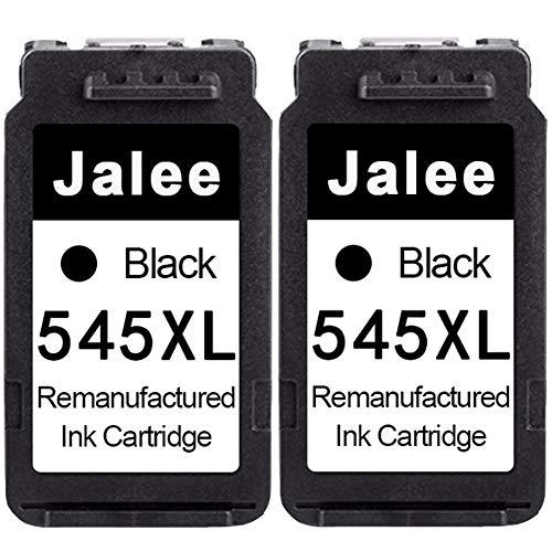 Jalee 2× Negro Cartuchos de Tinta refabricado para Usar en Lugar de Canon PG-545 XL Compatible para Canon PIXMA MX495TS3150 TS3151 MG2400 MG2450 MG2500 MG2550 MG2550S MG2555 MG2555S MG2950 MG2950S