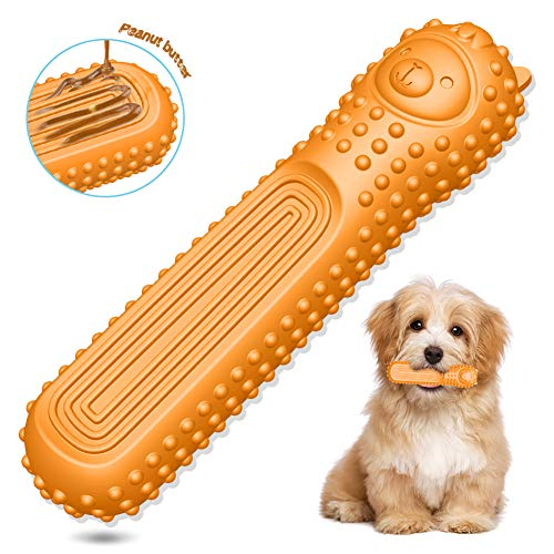 ucho Dog Toys Puppy Chew Toys Teething Dog Bones Durable Tough Interactive Pet Toys for Small Dogs Sheep Shaped Christmas Dog Birthday Gift