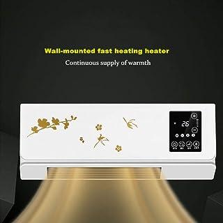 Warmwin Pequeño Calentador de Aire Acondicionado móvil montado en la Pared, Control Remoto doméstico, máquina de calefacción y refrigeración, refrigerador para baño BO-01-remote_Control_LCD_EU