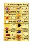 Zenzinger Mineralien und ihre Esoterik mit 20 Edelsteinchen M14 -
