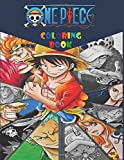 One Piece Coloring Book: Color one piece anime characters - anime Coloring book for adults , teen-agers and also kids - Anime Coloring book, size ( 8.5 x 11 )