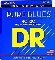 DR Strings PB5-40ピュアブルースベースギター弦