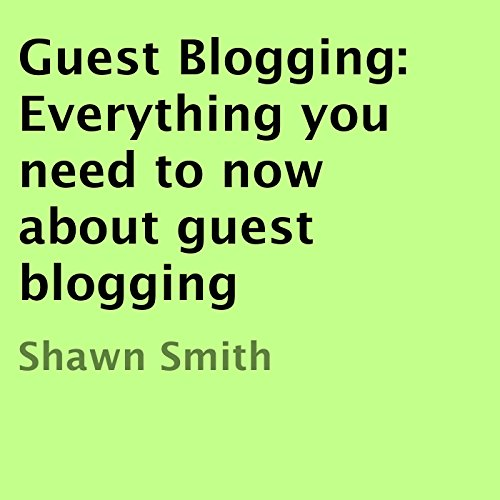 Guest Blogging cover art