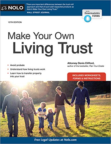 Compare Textbook Prices for Make Your Own Living Trust Fifteenth Edition ISBN 9781413328400 by Clifford Attorney, Denis