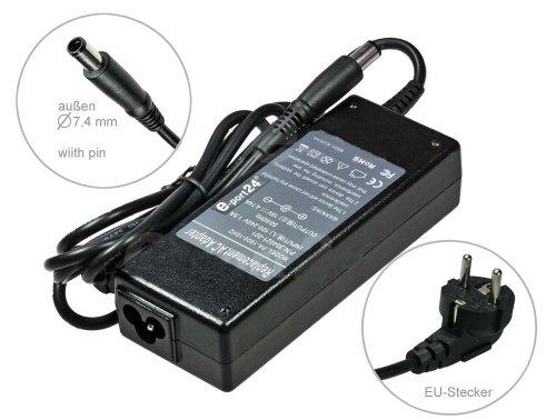 90W Alimentatore AC Adapter per Notebook Carica Batterie per HP Compaq EliteBook 2560p 8440p 8440w 8460p 8560p HP Compaq G-Serie G50-100 G60T-200 G61-401SA G61-406SA G62 G62-104SA G62-105SA G70-100 G70T-100 G70T-200 G72 G72-0031DE G72-101sa G72-102SA G72-b02SA G72-B04SG G72-b20SA. Con cavo di alimentazione a norma europea. Di e-port24®