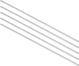 20/pcs 2/mm de diam/ètre 50/mm Longueur ronde en acier inoxydable tiges bars pour Toy car
