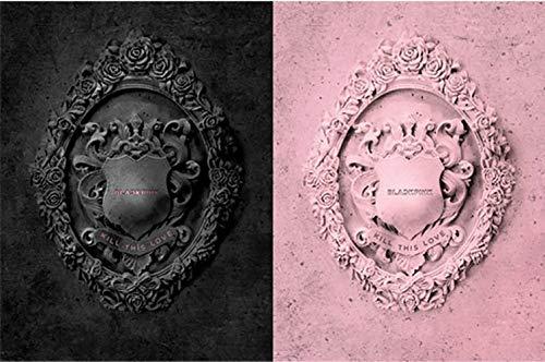 BlackPink Kill This Love 2nd Mini Album (Black Ver+Pink Ver Set) 2 CDs+2 Posters On...