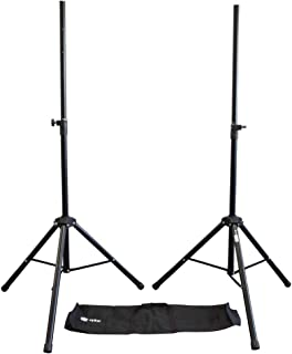 Steel Speaker Stand Kit with Carry Bag
