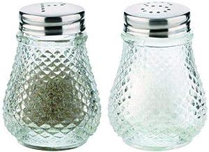 Tescoma 654004 Classic Salt And Pepper Set (Transparent)