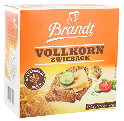 Brandt Zwieback Vollkorn (225 g)