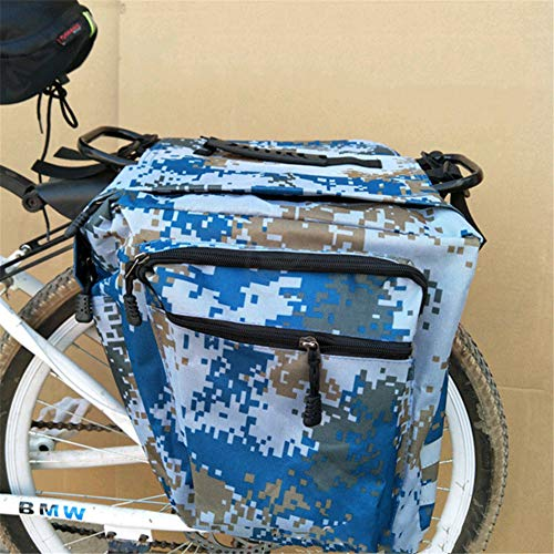 Sac De Rangement Mountain Road Mountain Bike Vélo Tissu Oxford, Réparation De Vélos Sac à Outils De Poche Fournitures Cyclisme (Bleu)