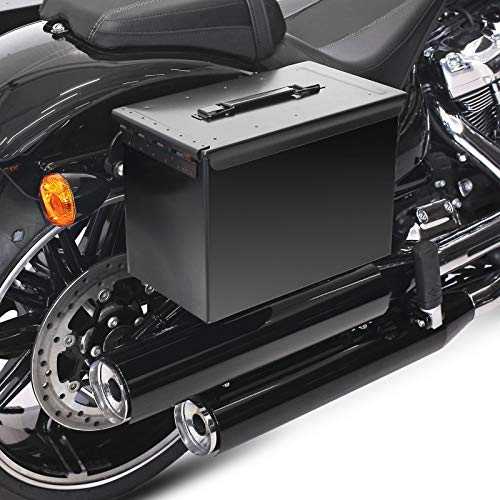 Satteltasche Ammo + Halter abnehmbar für Harley Fat Boy 18-20 rechts