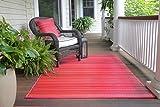 Fab Hab - Cancun - Sunset - Teppich/ Matte für den Innen- und Außenbereich (180 cm x 270 cm)