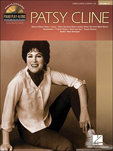 Hal Leonard Patsy Cline - Piano Play-Along Volume 87 (CD/Pkg) arranged for piano, vocal, and guitar (P/V/G)