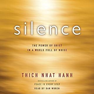 Silence audiobook cover art