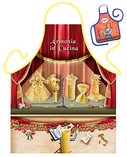 HARMONIA dans Cucina – Tablier humoristique Fun Party et mini pour à la bouteille