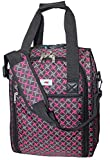 16' Personal Item Under Seat Duffel Bag for Airlines of American, Frontier, Spirit,SouthWest, Jetblue (Pink)