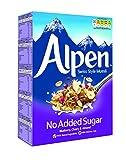 Weetabix Alpine Muesli sin azúcar añadido, Arándano, Cereza y Almendra - Cereales para el desayuno, 1x560g