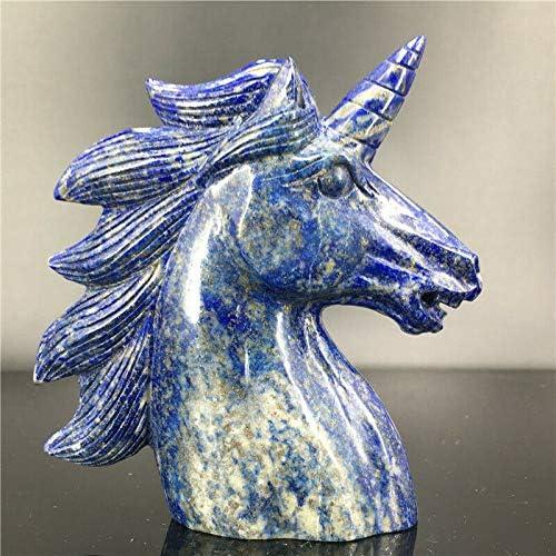 1.21lb Natural Lapis Lazuli Quartz Unicorn Carved Skull Popular product Cry Las Vegas Mall Hand