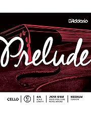 D'Addario Preludio 4/4 Medium Tension Escala Individual C cuerdas para violonchelo