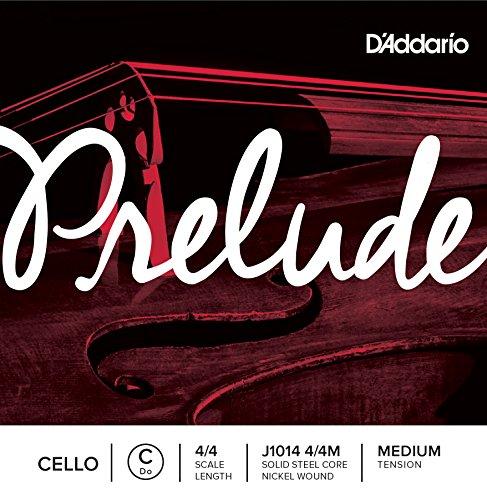 D'Addario J1014 4/4M Prelude Corda per violoncello, do, singola Tensione media 4/4 Scale