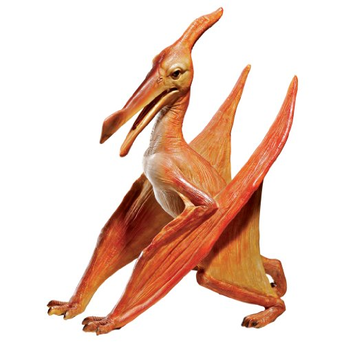 Design Toscano JQ6627  Scaled Jurassic Pterodactyl Dinosaur Statue,full color