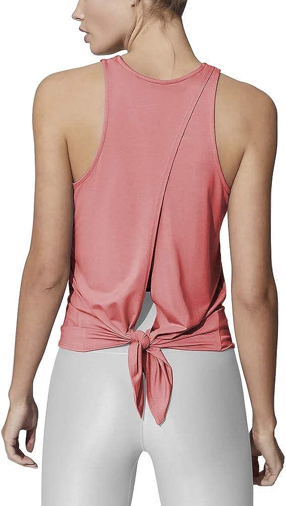 Recommendation Bestisun Open Back Workout wholesale Tops Backless Shirt for Women