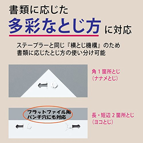 No needle stapler Kokuyo <Ha Linux></noscript> (desktop 12 sheets) SLN-MS112D (japan import) - 6