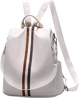 Amazon.es: Blanco Bolsos mochila Bolsos para mujer
