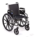 Invacare TRSX58FBP Tracer SX5 Wheelchair for Adults | Everyday Folding | 18 Inch Seat | Desk Arms